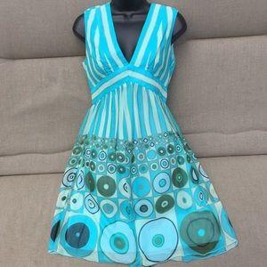 Anna Sui 100% silk dress